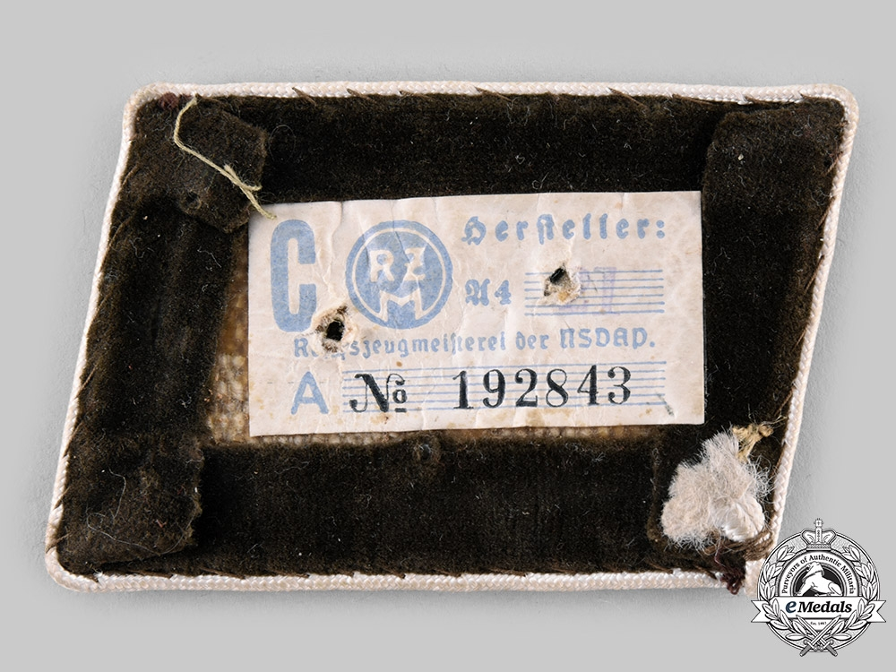 Germany, NSDAP. Two Pairs of Collar Tabs