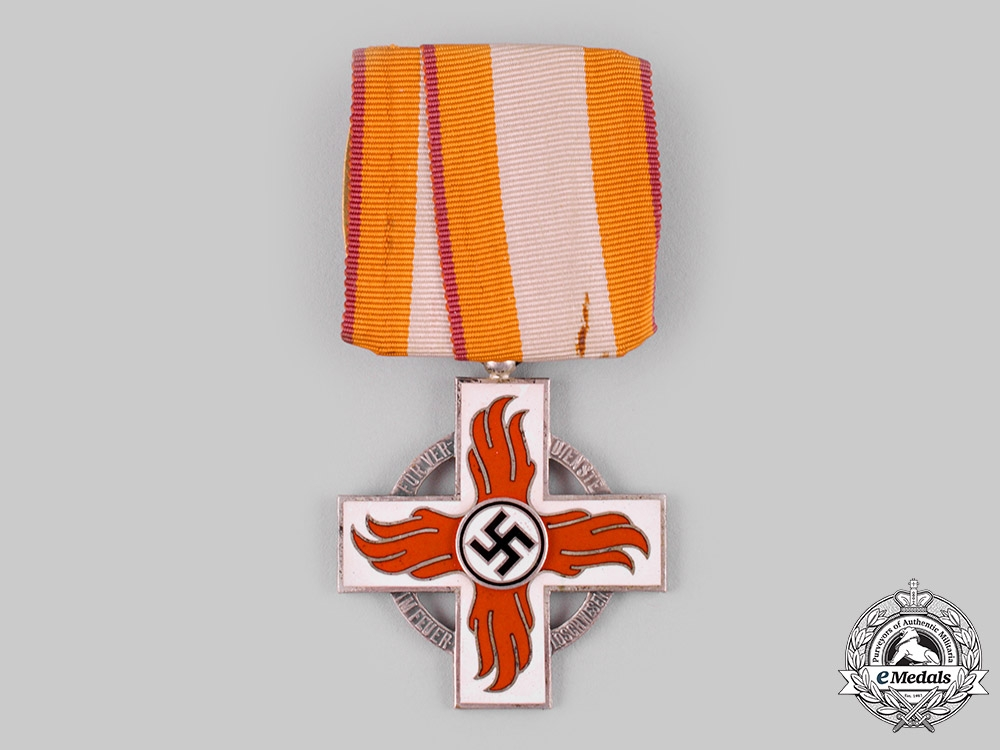 Germany, Third Reich. A Reich Fire Brigade Honour Cross, II Class
