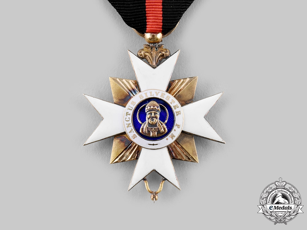 Vatican. An Order of St. Sylvester and of the Golden Spur in Gold, Knight, c. 1900