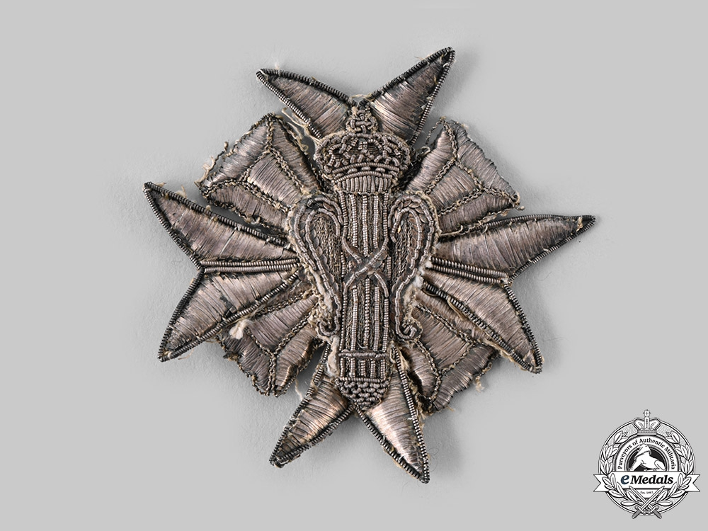 Sweden, Kingdom. An Order of Vasa, Grand Cross Star, Embroidered,  c.1800