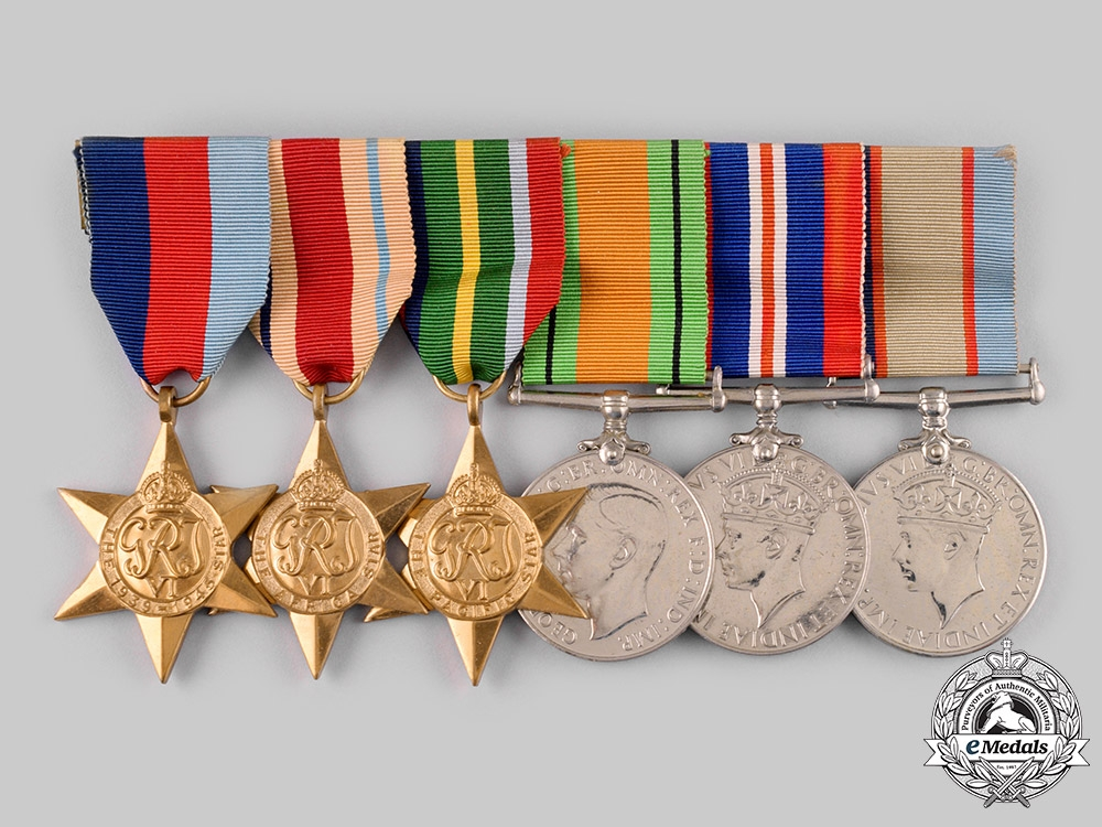Australia, Dominion. A Second War Group to Sergeant Horace Walter Harris Major, 2/3rd Field Regiment, Australian Army