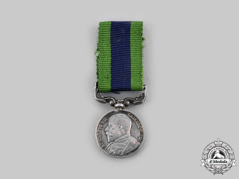 United Kingdom. An India General Service Medal 1908-1935, Miniature
