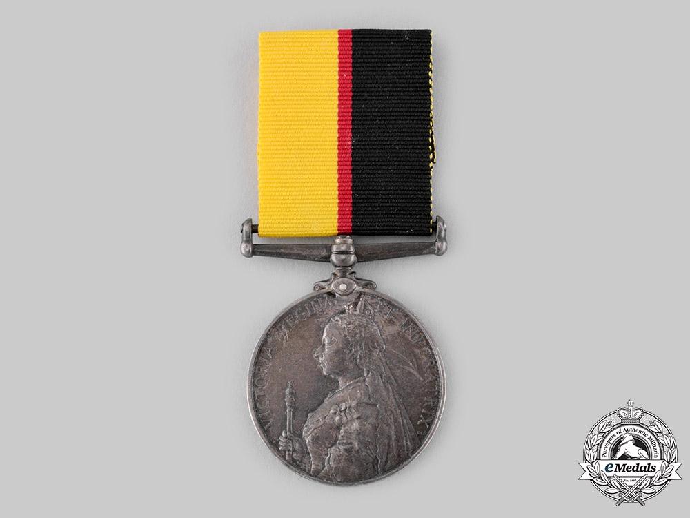 United Kingdom. A Queen's Sudan Medal 1896-1897