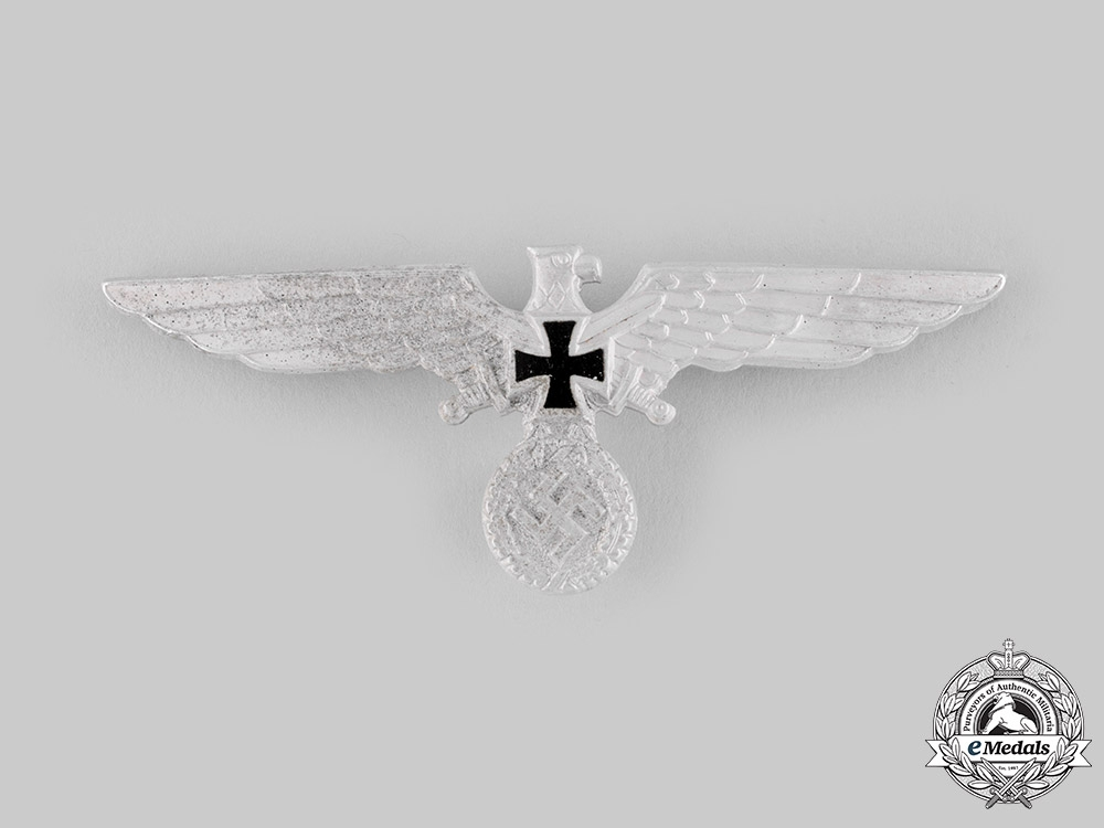 Germany, Third Reich. A Kyffhäuser League Visor Cap Eagle by Karl Wurster