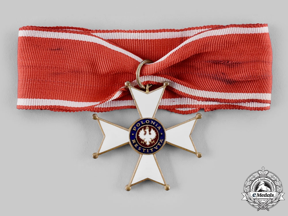 "Poland, Republic. An Order of Polonia Restituta ""Poland Restored"", III Class Commander, c.1935"