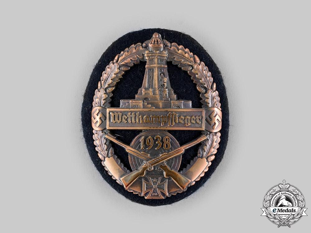 Germany, Third Reich  A 1938 Kyffhäuser League Combat Games