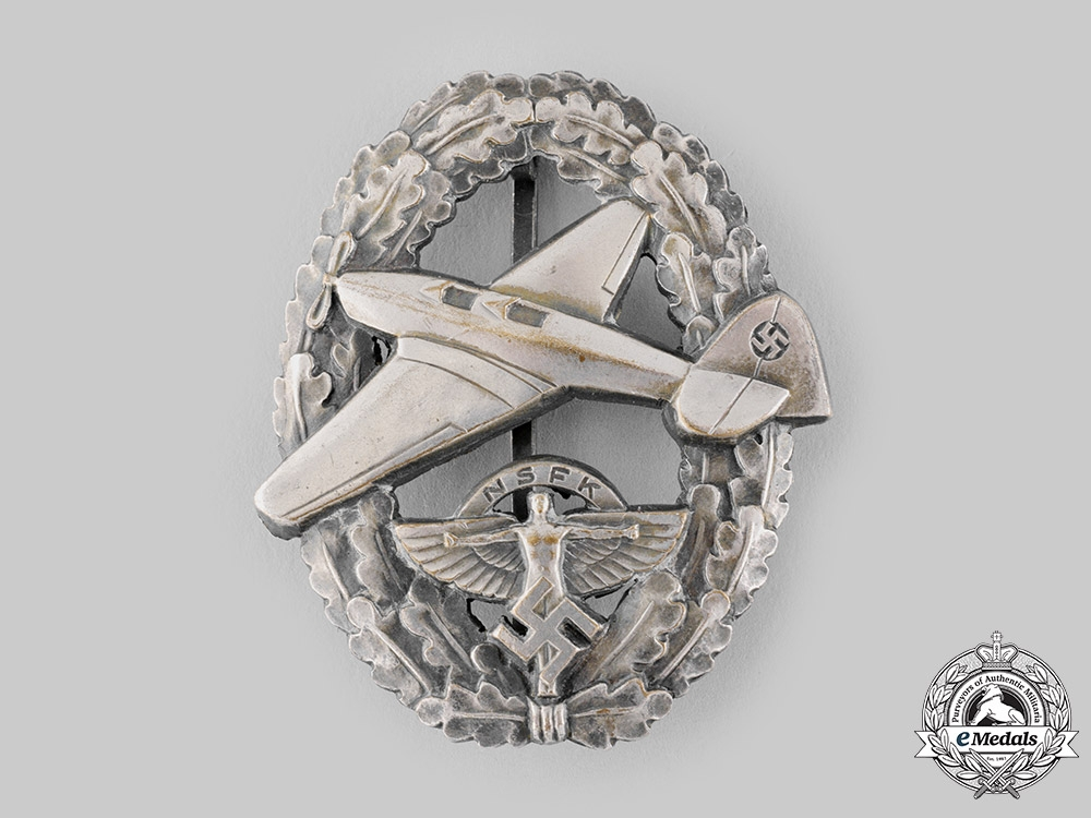 Germany, NSFK. A National Socialist Flyers Corps (NSFK) Pilot's Badge, II Version