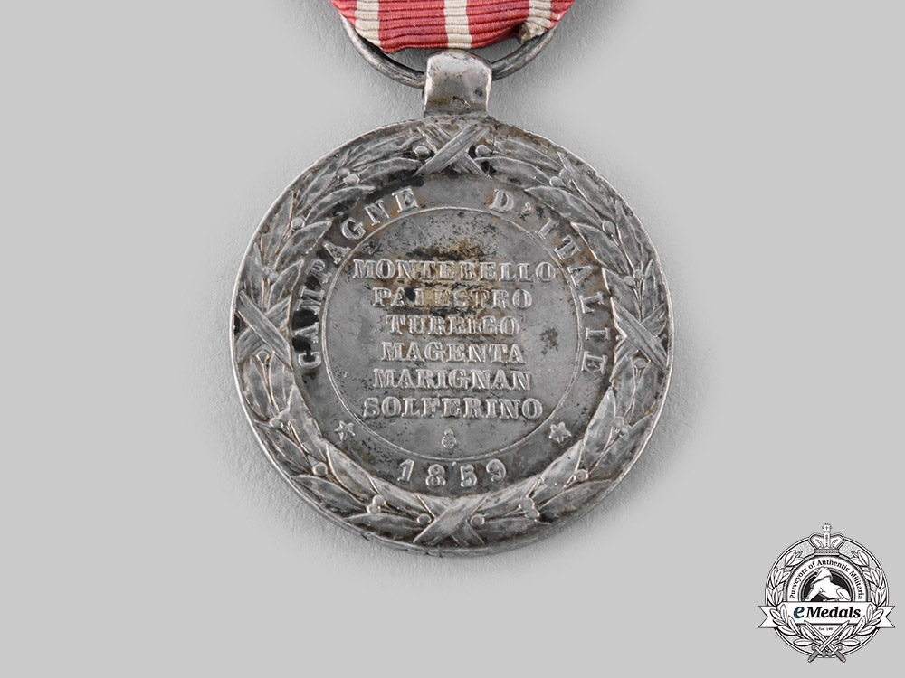 France, II Empire. A Medal of the Italian Campaign 1859
