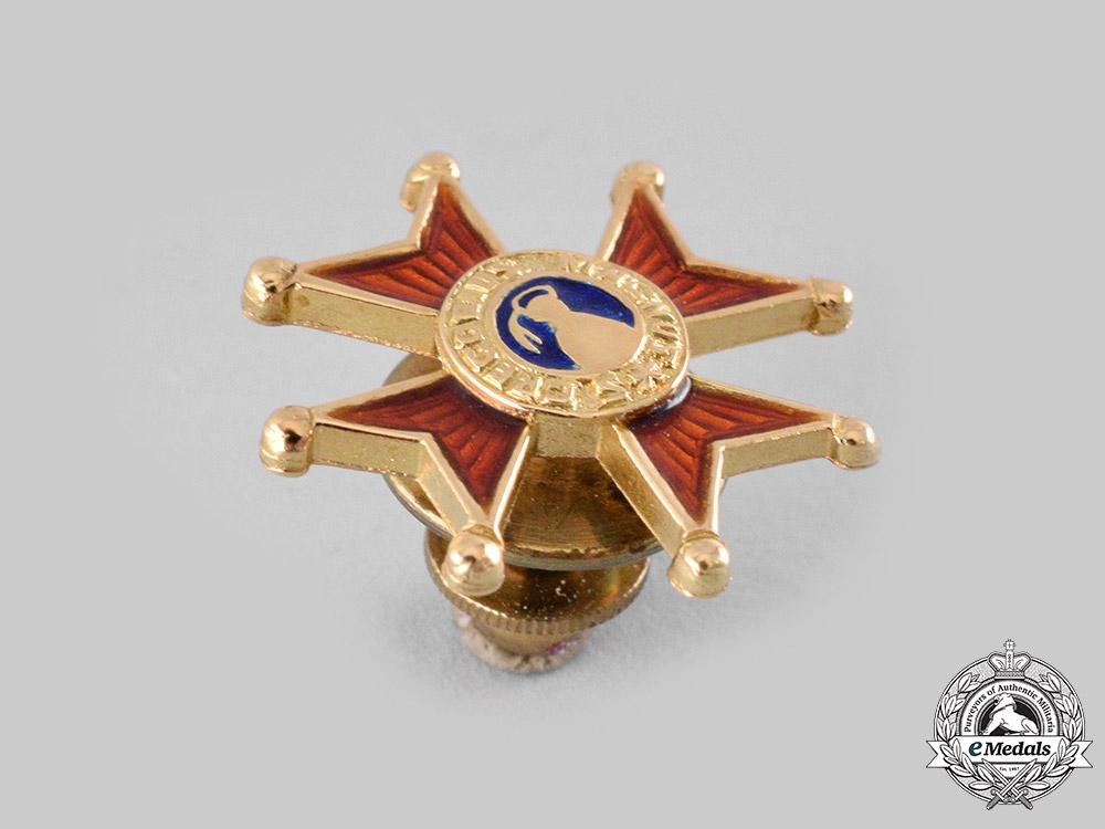 Vatican, United Kingdom. Four Miniature Awards