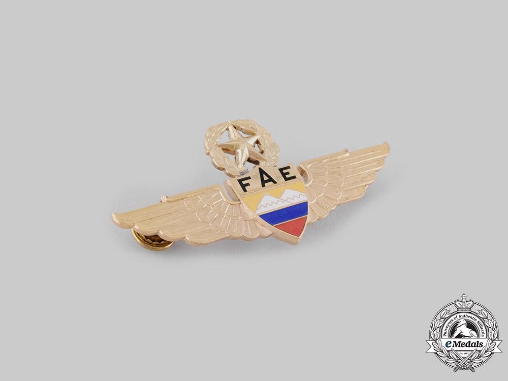 Ecuador, Republic; Guatemala, Republic; Mexico, Republic. Three Pilot Badges