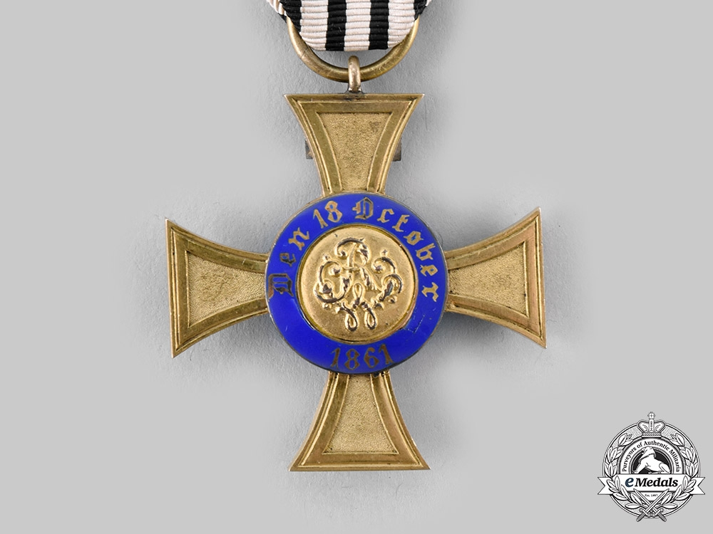Prussia, Kingdom. An Order of the Crown, IV Class with Geneva Cross