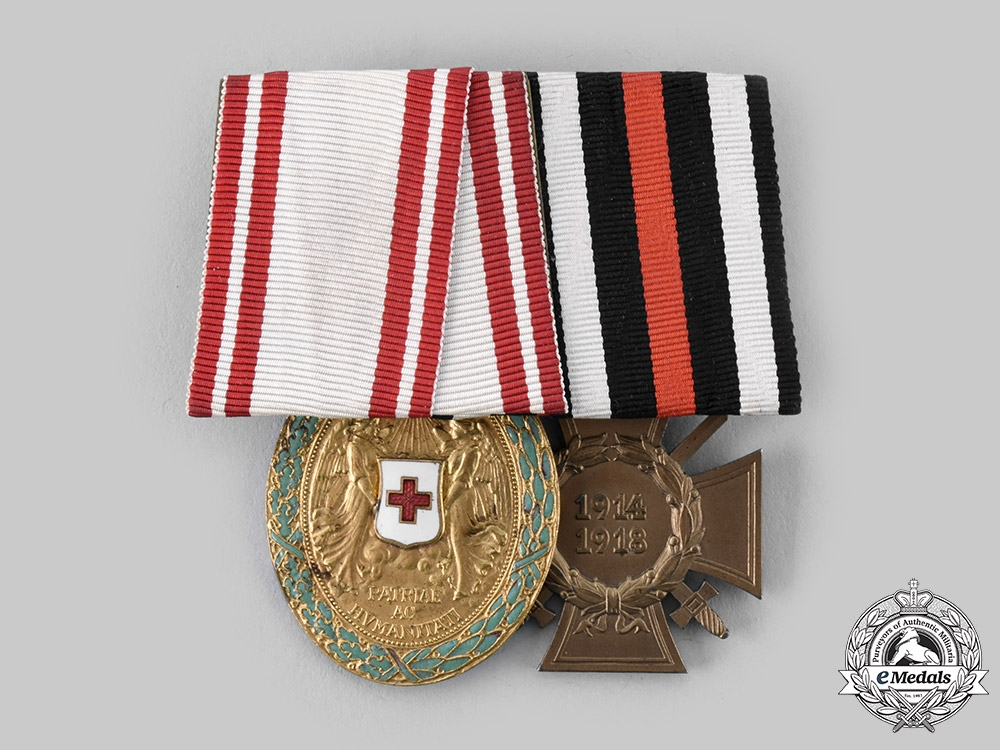 Austria, Imperial. A Red Cross Medal Pairing