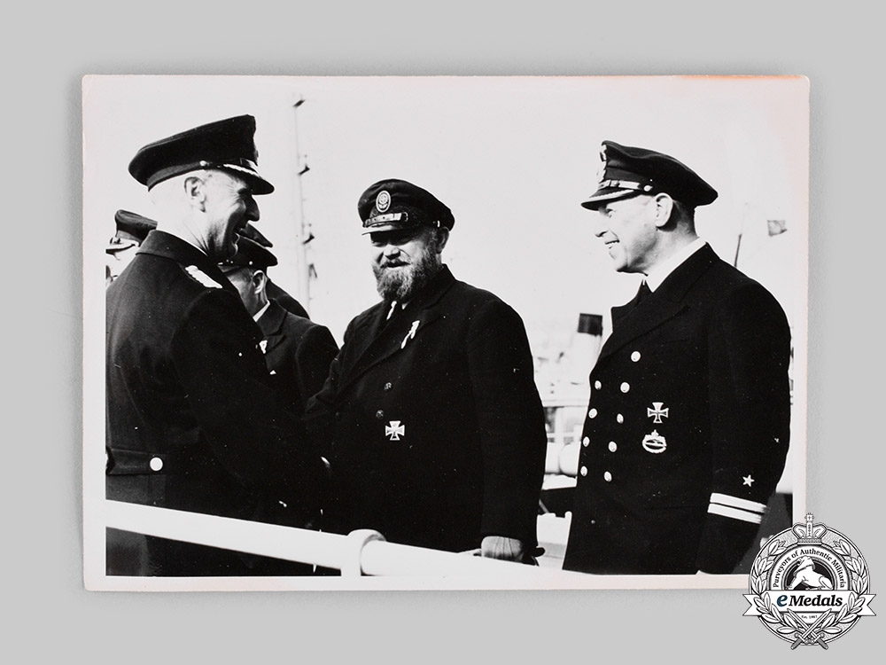 Germany, Kriegsmarine. A 1940 Press Photograph of the Return of the Supply Ship Altmark
