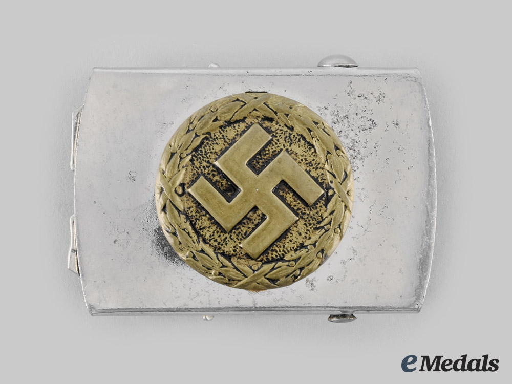 Germany, HJ. An Early HJ Enlisted Personnel Belt Buckle
