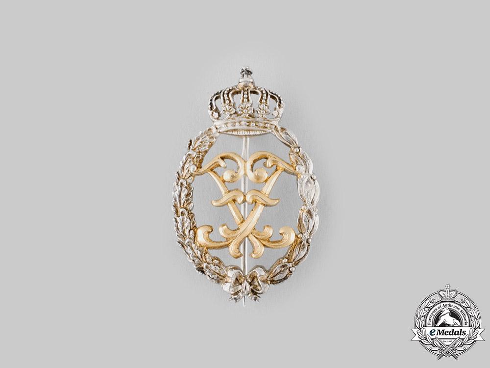 Germany. A Hohenzollern 40-Year Merit Badge, c.1935