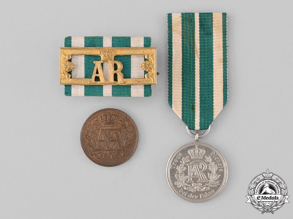 Saxony, Kingdom. A Lot of Medals & Badges