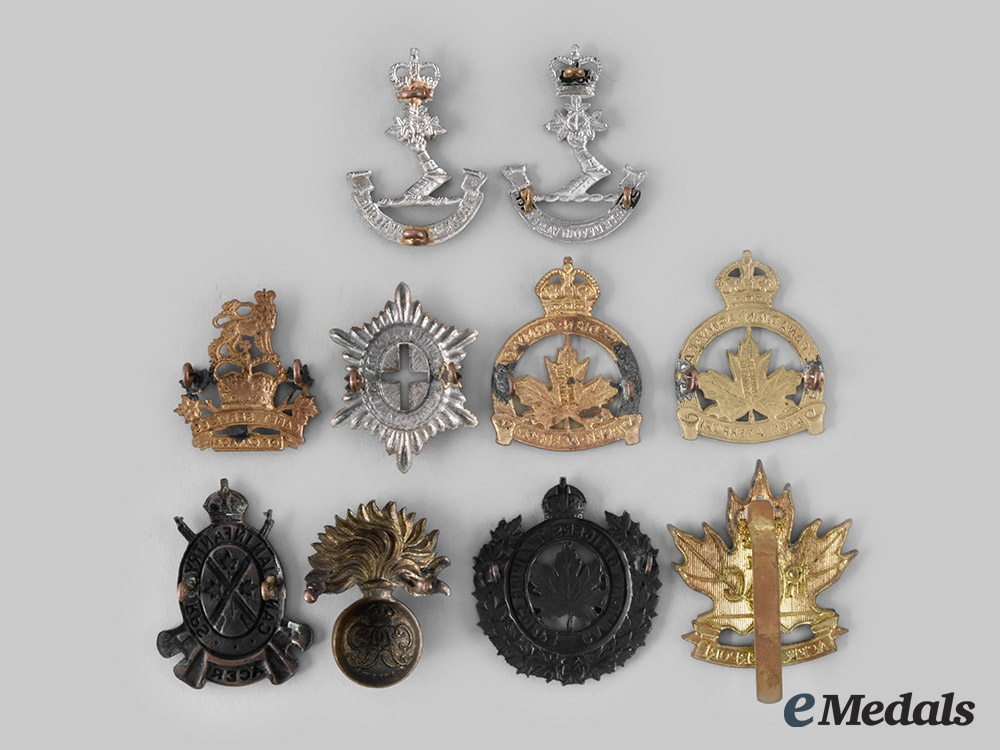 Canada. A Lot of Ten First War and Post Second War Badges