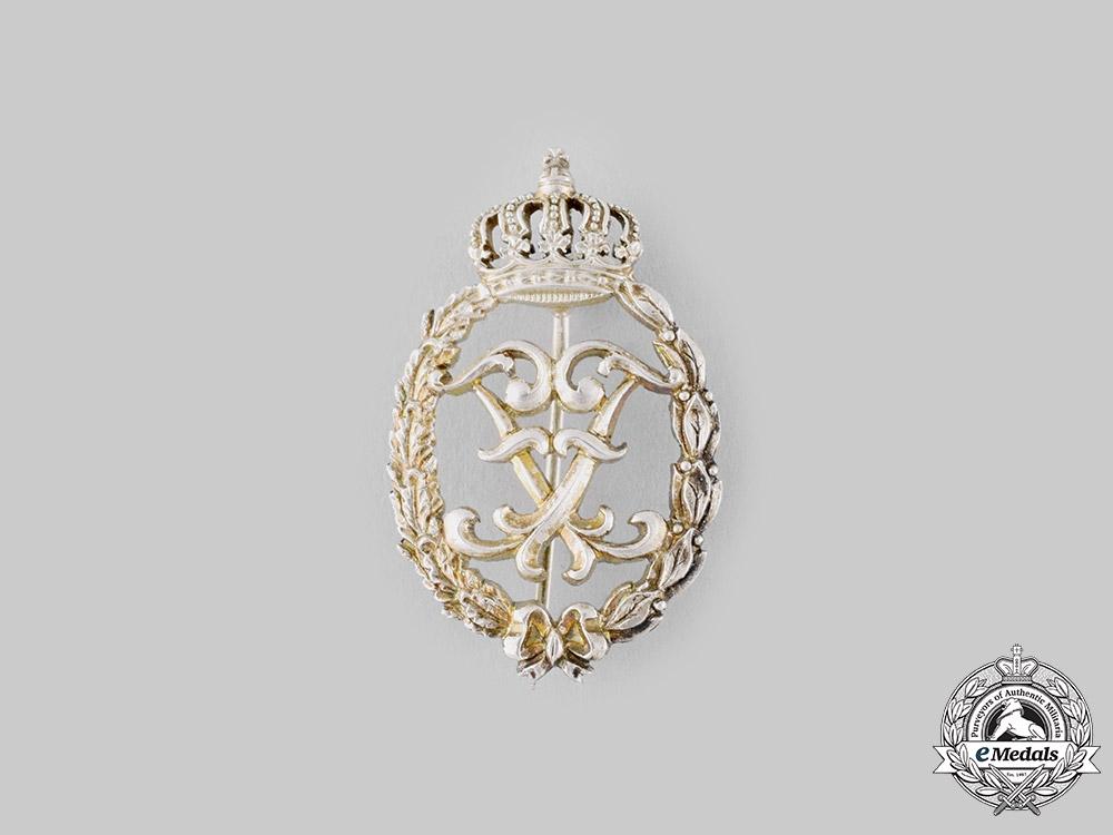 Germany. A Hohenzollern 50-Year Merit Badge. c.1935