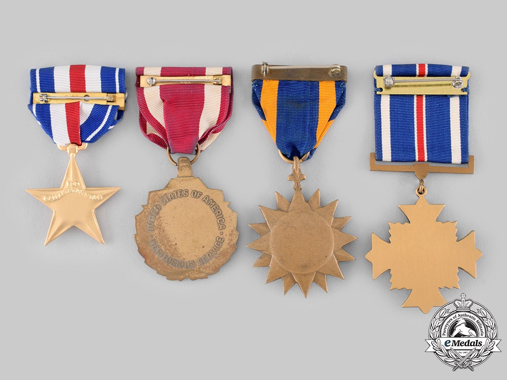 United States. Four Awards & Decorations