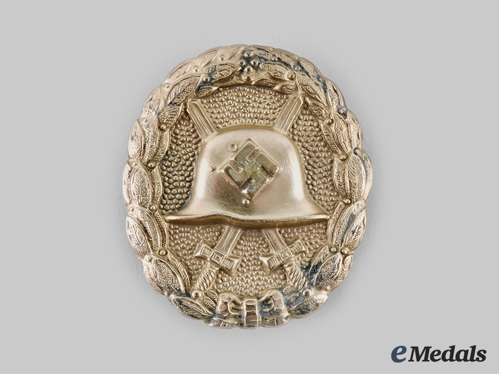 Germany, Wehrmacht. A First Pattern Wound Badge, Gold Grade