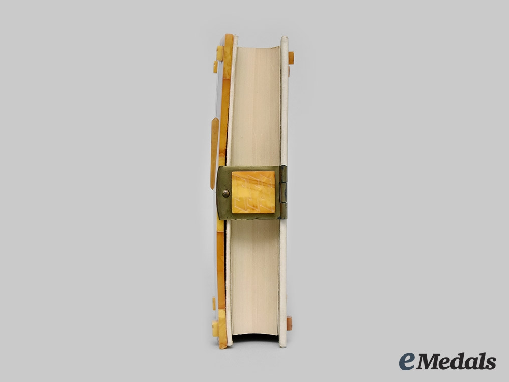 Germany, NSDAP. A Special Amber-Bound Edition of Mein Kampf; Estate of Arthur Seyss-Inquart