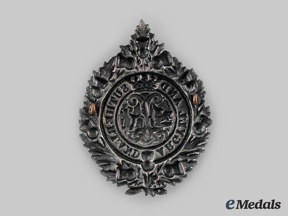 United Kingdom. An Argyll and Sutherland Glengarry Badge