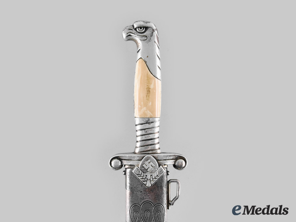 Germany, RAD. A Reich Labour Service Model 1937 Leader's Hewer, Damascus Blade