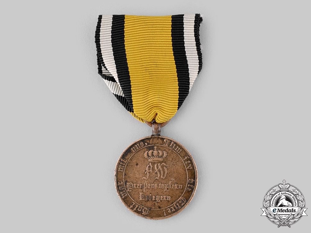 Prussia, Kingdom. A War Medal for Fighters of 1814