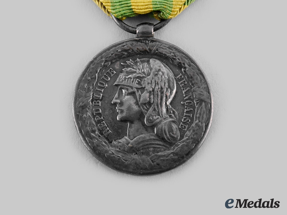 France, III Republic. A Tonkin Expedition Commemorative Medal for the Army 1885