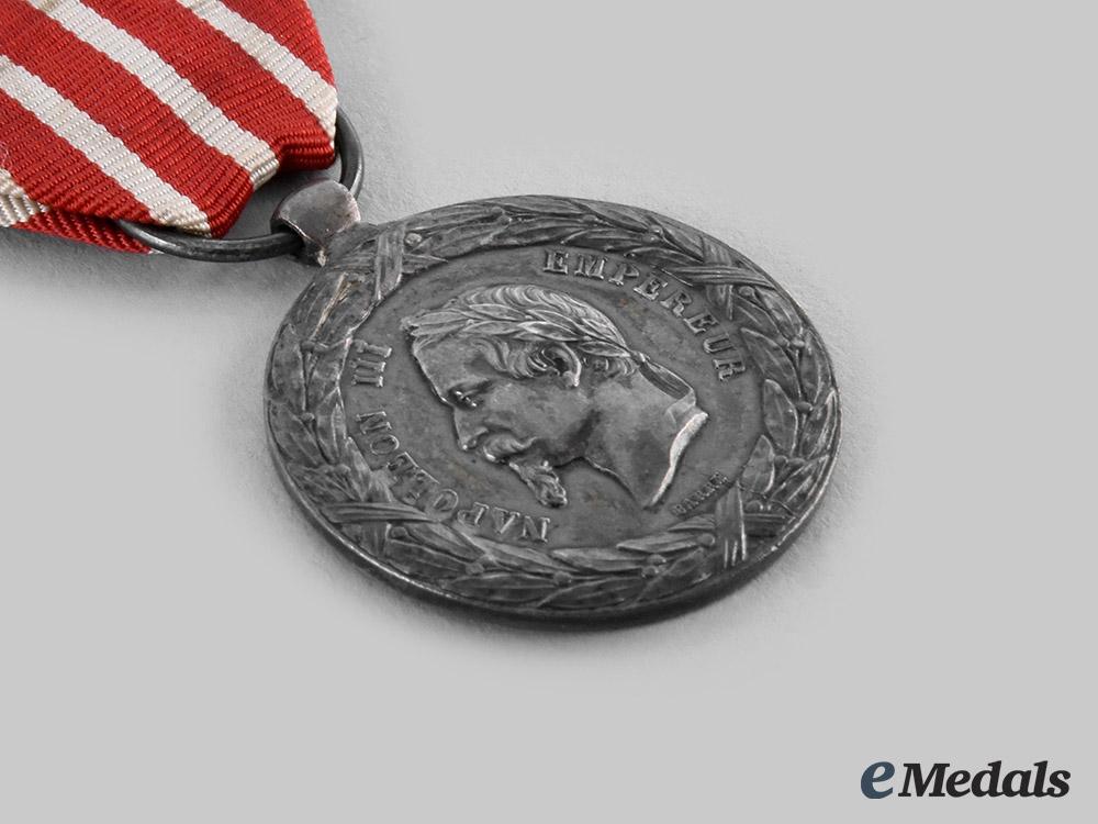 France, II Empire. Commemorative Medal of the Italian Campaign 1859