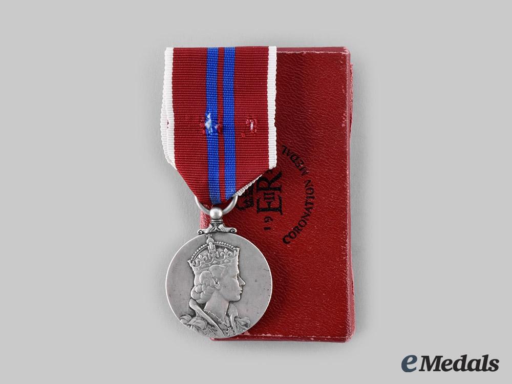 United Kingdom. A Queen Elizabeth II Coronation Medal 1953