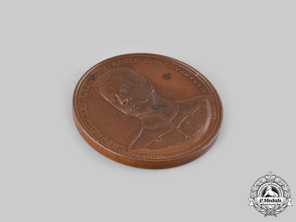 Reuss, County. A Prince Heinrich XXVII Merit Medallion