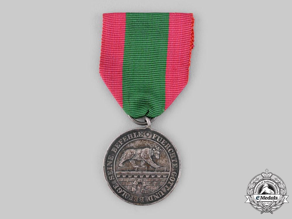 Anhalt, Duchy. An Order of Albert the Bear, Silver Merit Medal, c.1917