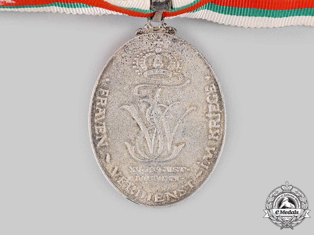 Saxe-Weimar and Eisenach, Grand Duchy. A Decoration of Merit for Women in Wartime,c.1918