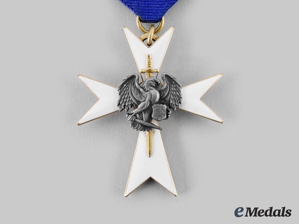 Estonia. A White Cross of the Civil Guard, III Class