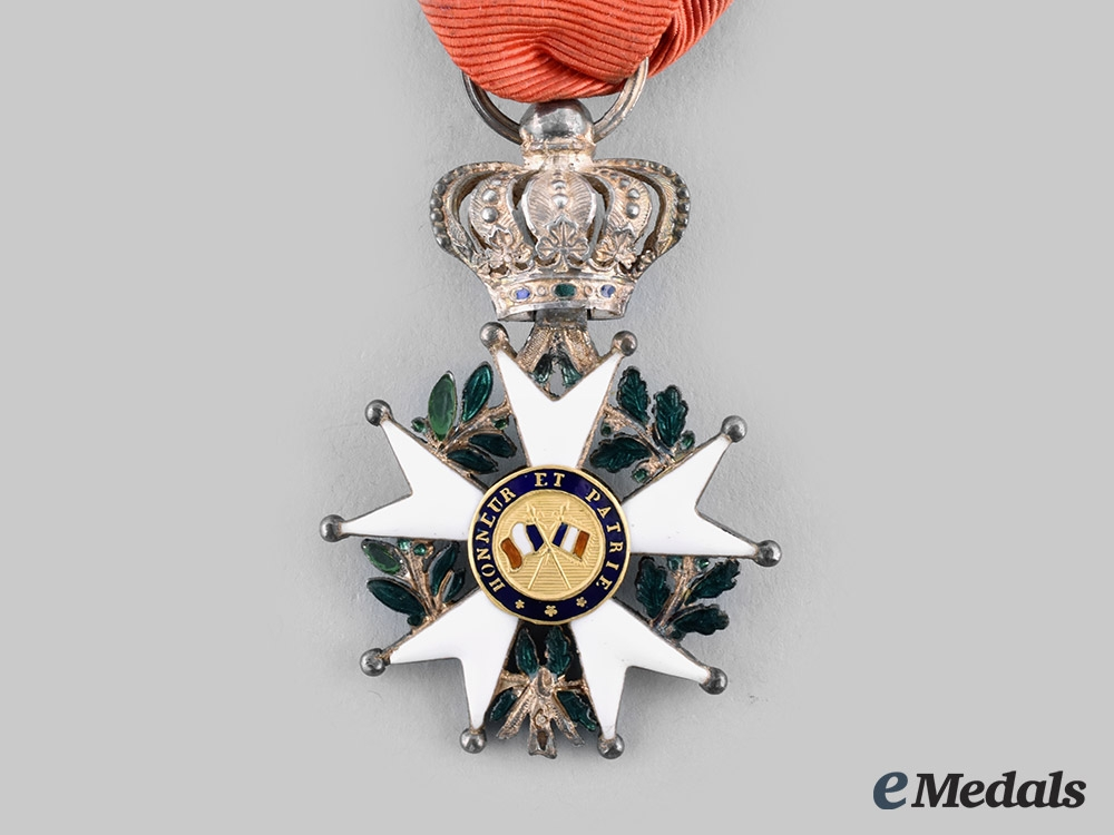 France, July Monarchy. An Order of the Legion of Honneur, IV Officer, c.1835