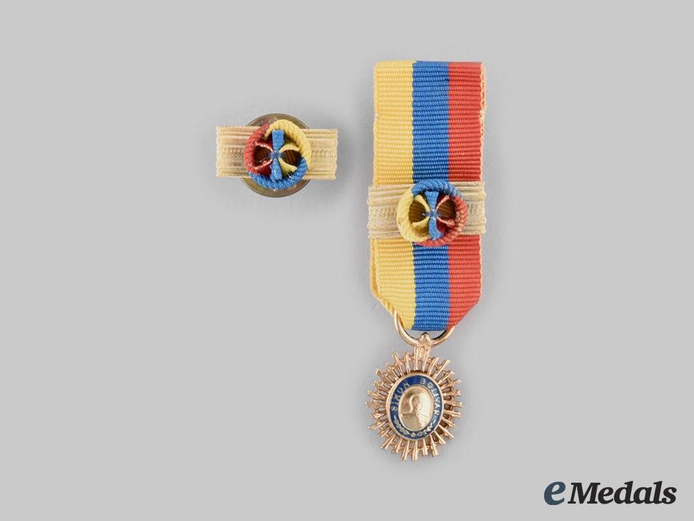Venezuela, Republic. An Order of the Liberator, I Class Grand Cross, c.1980