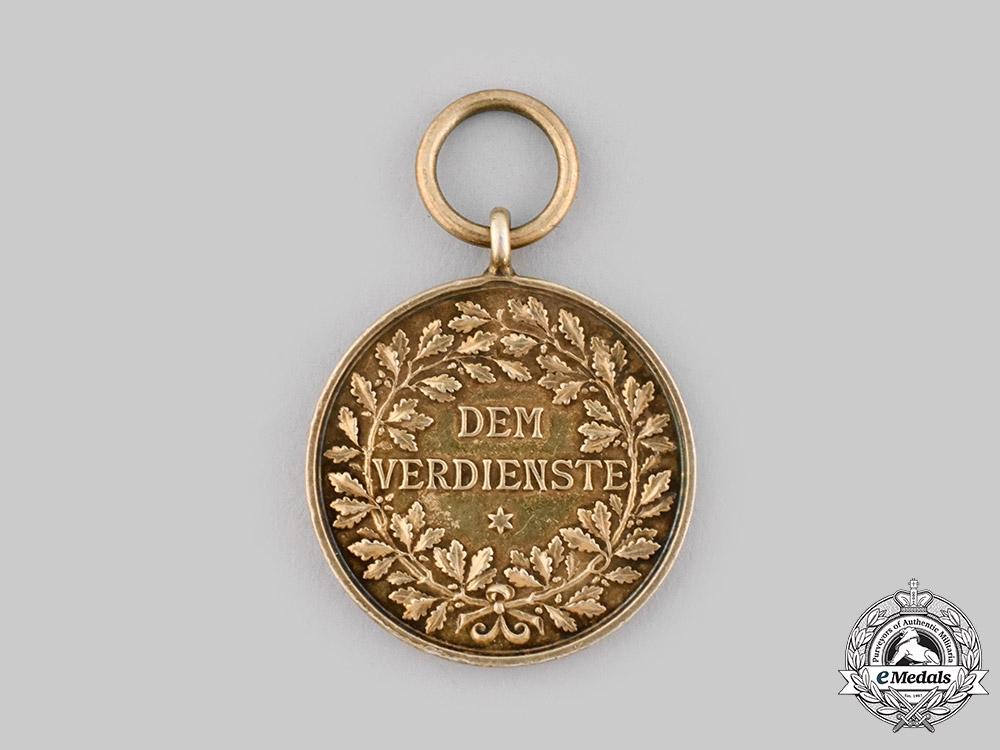 Württemberg, Kingdom. A Silver Civil Merit Medal, by Karl Schwenzer, c.1892