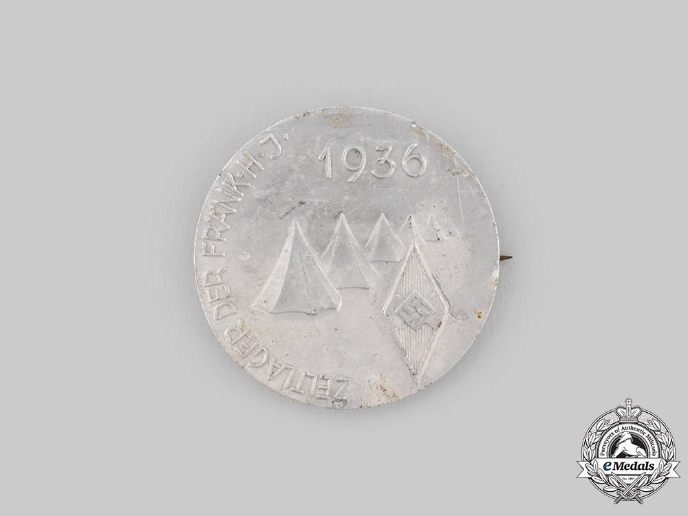 Germany, HJ. A 1937 Camp Badge