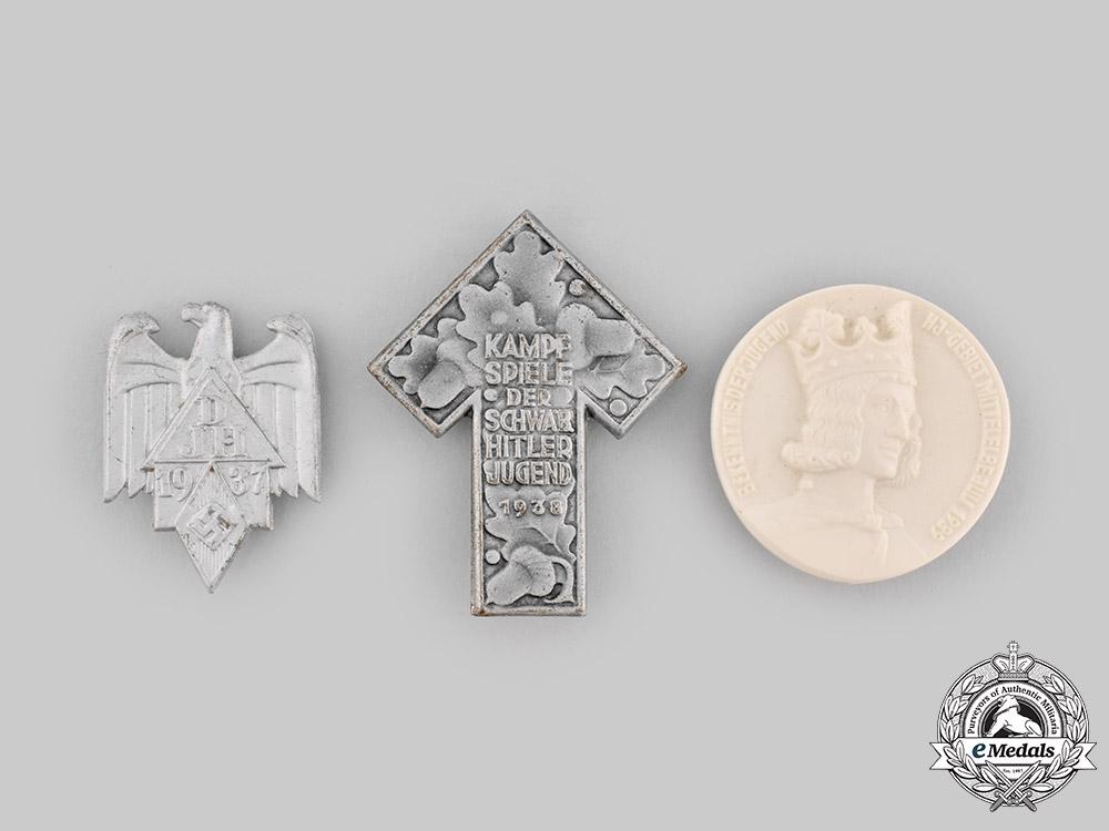 Germany, HJ. A Lot of Commemorative Badges