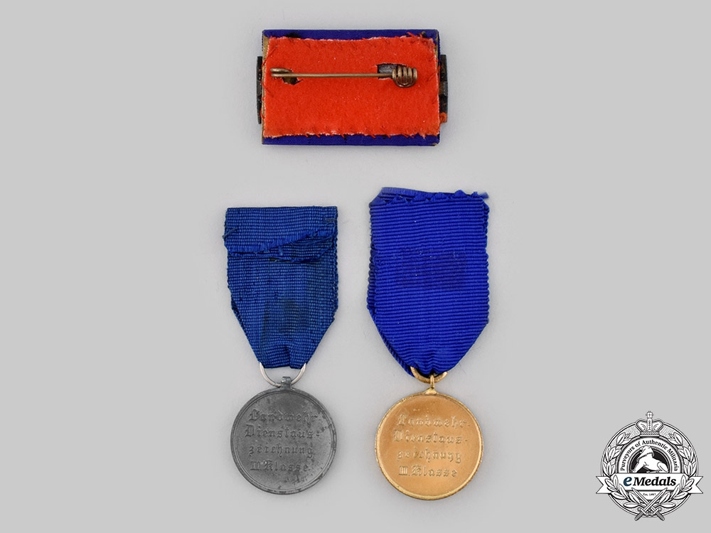 Prussia, Kingdom. A Lot of Long Service Awards