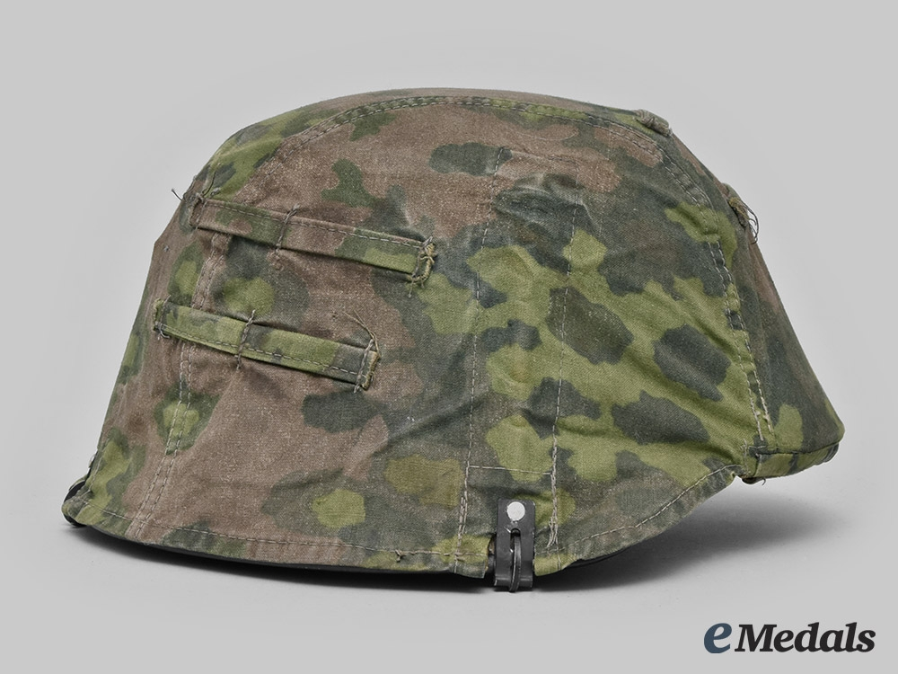 Germany, SS. A Waffen-SS Camouflage Helmet Cover