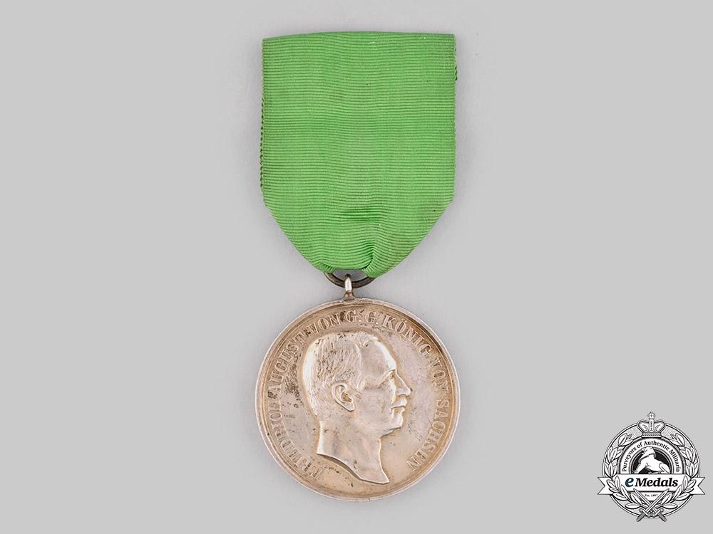 Saxony, Kingdom. A Medal for Good Judgement