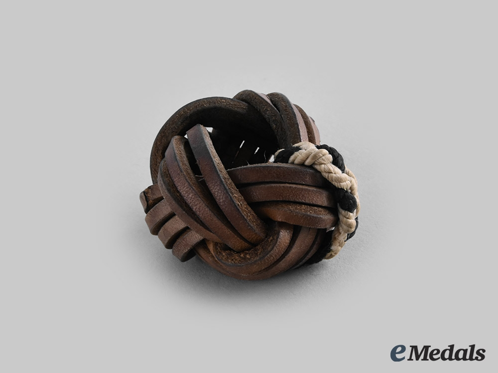 Germany, HJ. A Leather HJ Scarf Knot