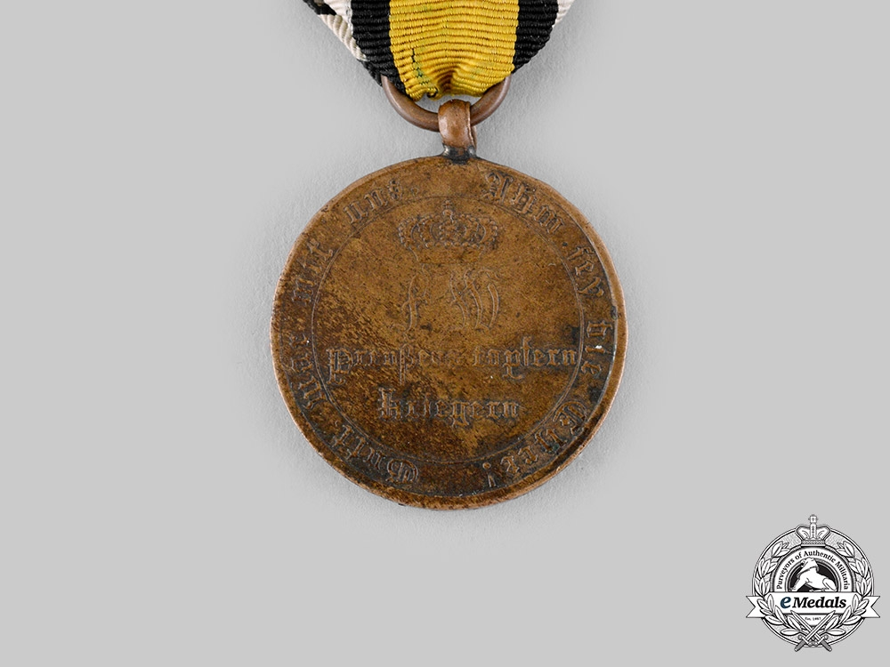 Prussia, Kingdom. A War Commemorative Medal for Fighters 1815