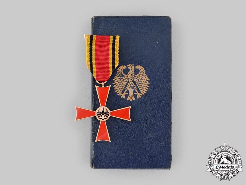 Germany, Federal Republic (West Germany). An Order of Merit, Merit Cross