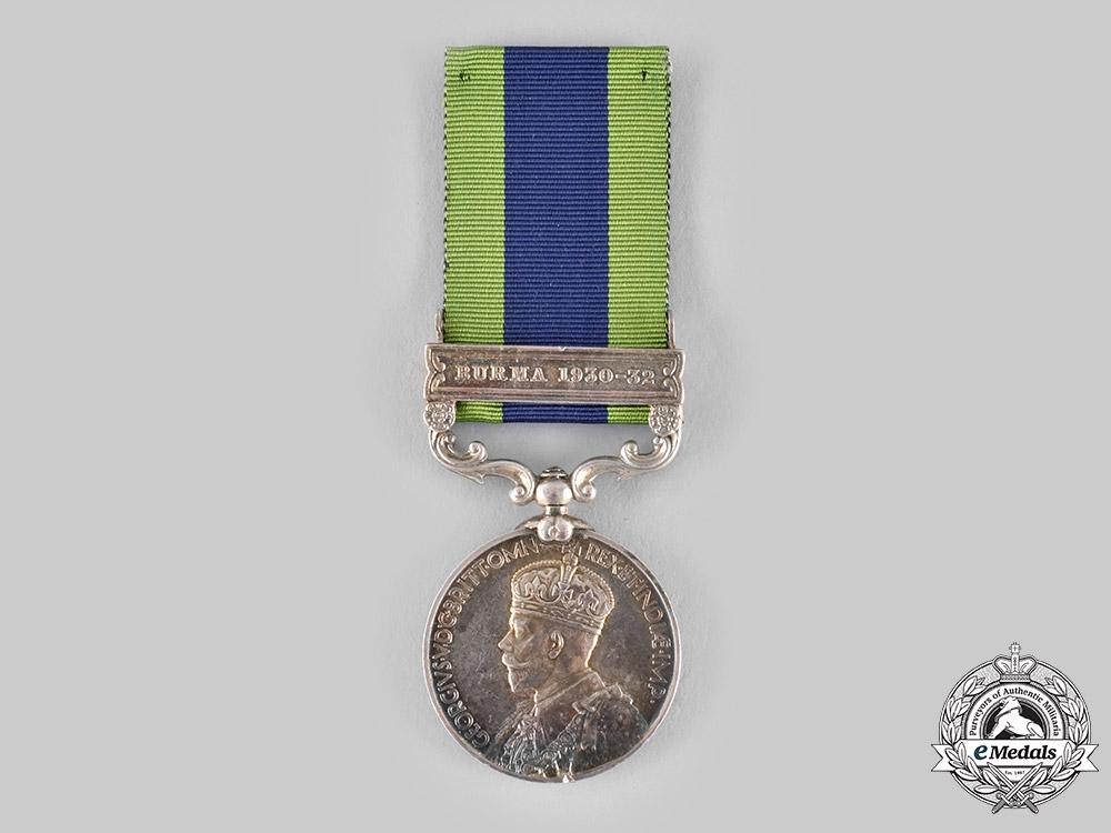 United Kingdom. An India General Service Medal 1908-1935, 3rd Battalion, 16th Punjab Regiment
