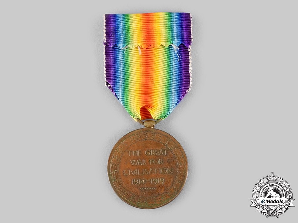 Canada, Dominion. A Victory Medal, 259th Infantry Battalion, Canadian Siberian Expeditionary Force