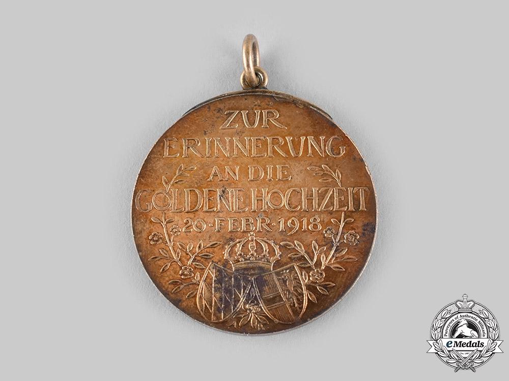 Bavaria, Kingdom. A Golden Wedding Commemorative Medal, c.1925