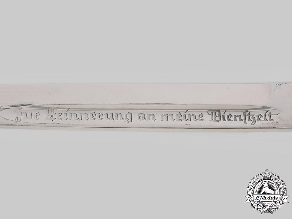 Germany, Heer. A Commemorative Bayonet, by Peter Daniel Krebs